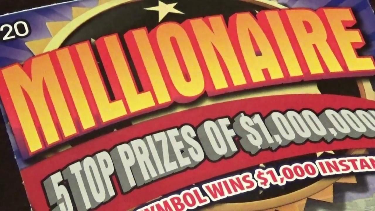 """(NEW) WINNER $20 Pennsylvania Lottery """"Millionaire ..."""