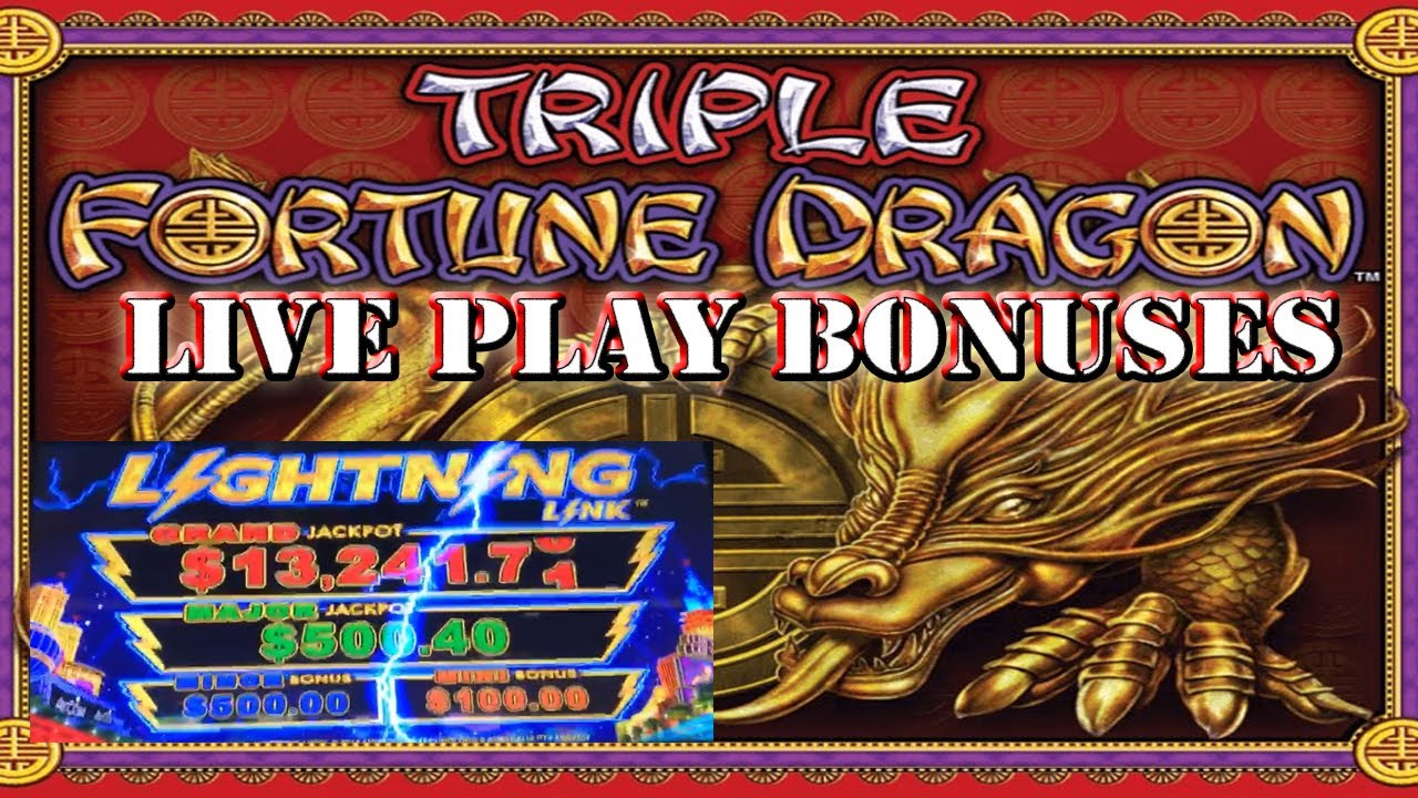 Triple fortune dragon slot machine jackpot